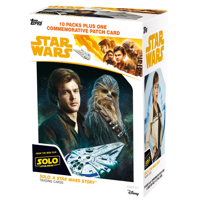 2a86e65a6e3 Look for Topps  official Solo  A Star Wars Story photographs (via Star Wars  Authentics) on April 20 and trading cards (above) on May 25.
