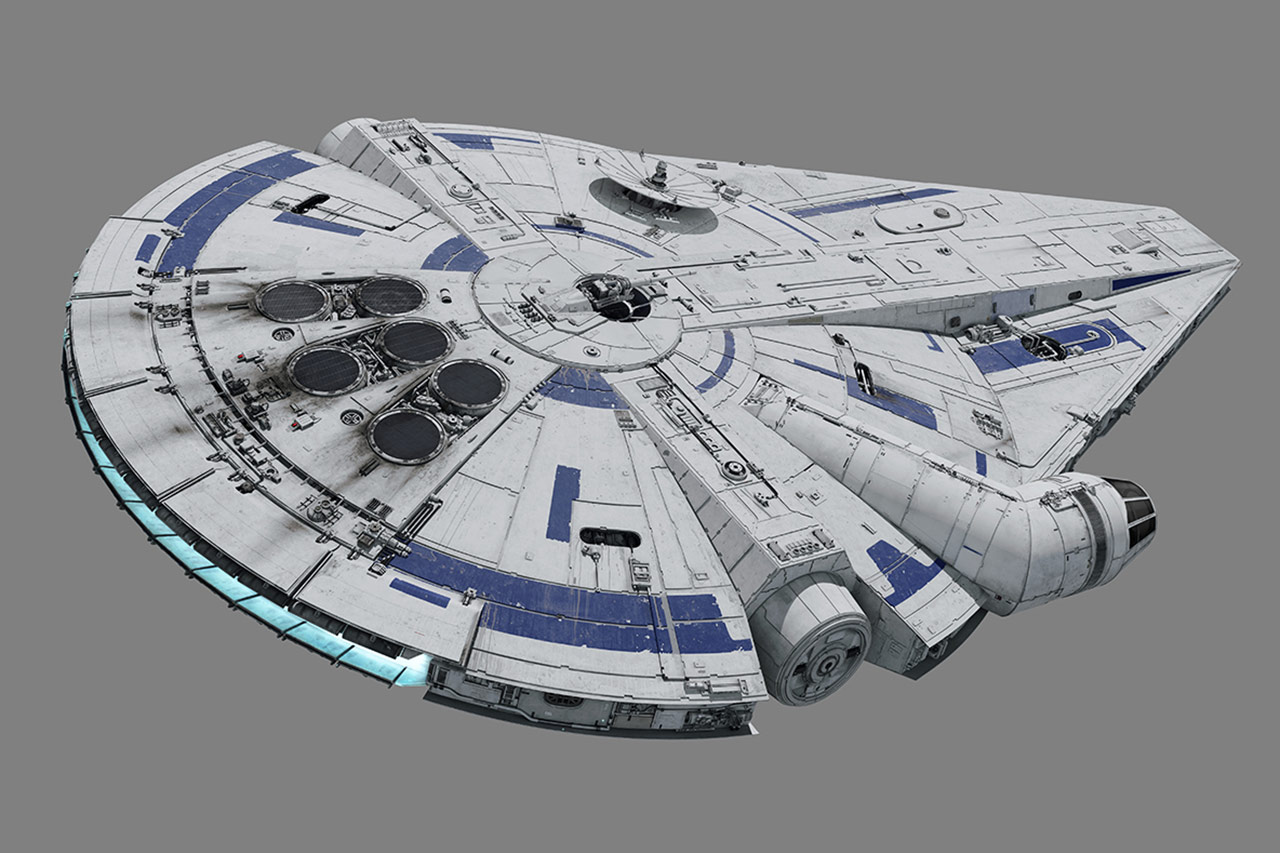 Designing the Solo: A Star Wars Story Millennium Falcon