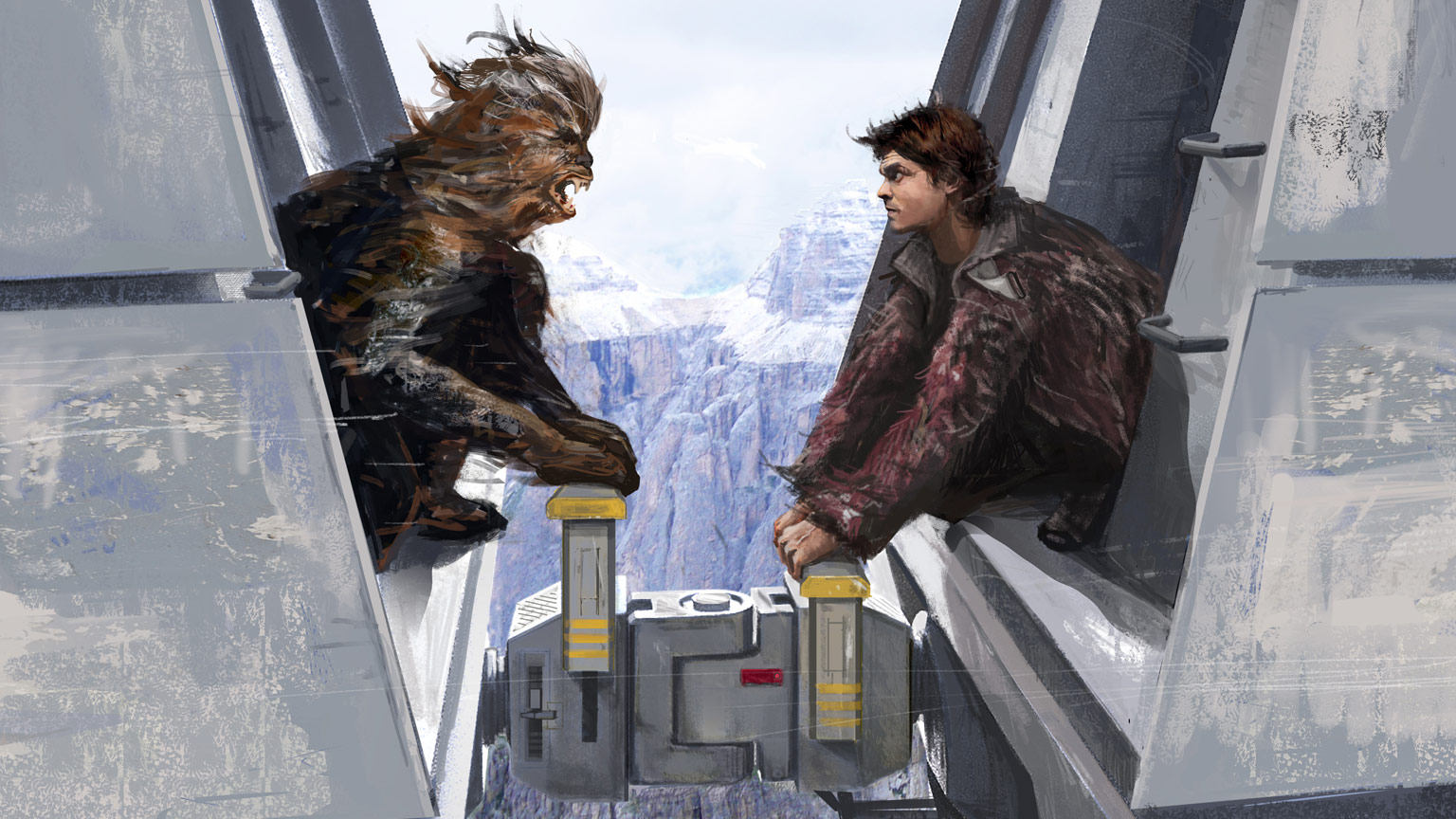 7942799faf8f1 Designing the Train Heist in Solo  A Star Wars Story