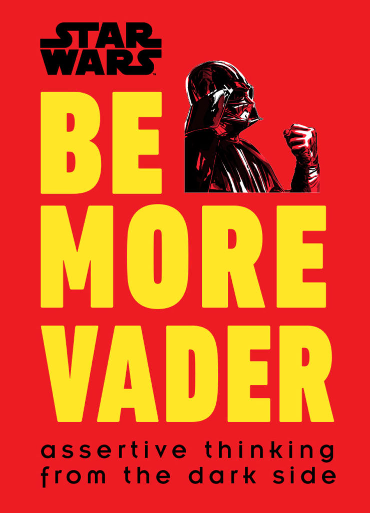 Be More Vader book cover.