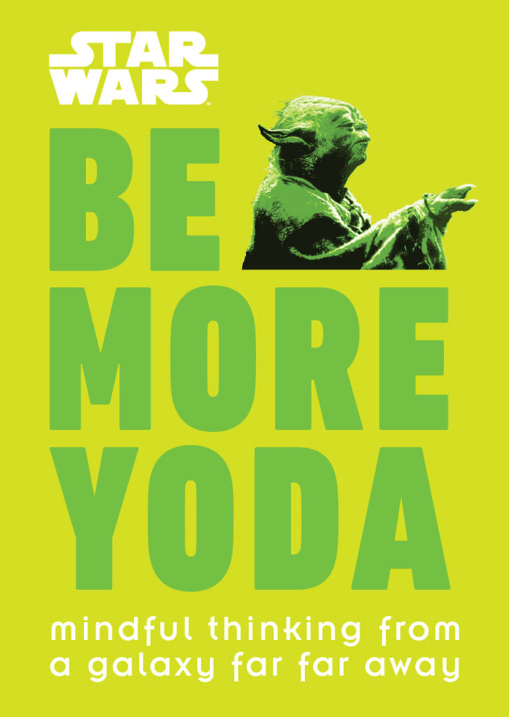 Be More Yoda book cover.