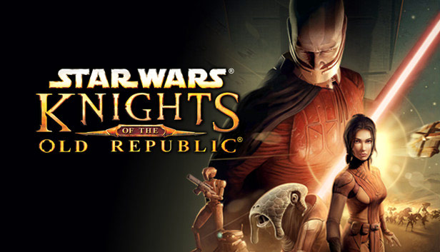 Star Wars: Knights of the Old Republic key art.