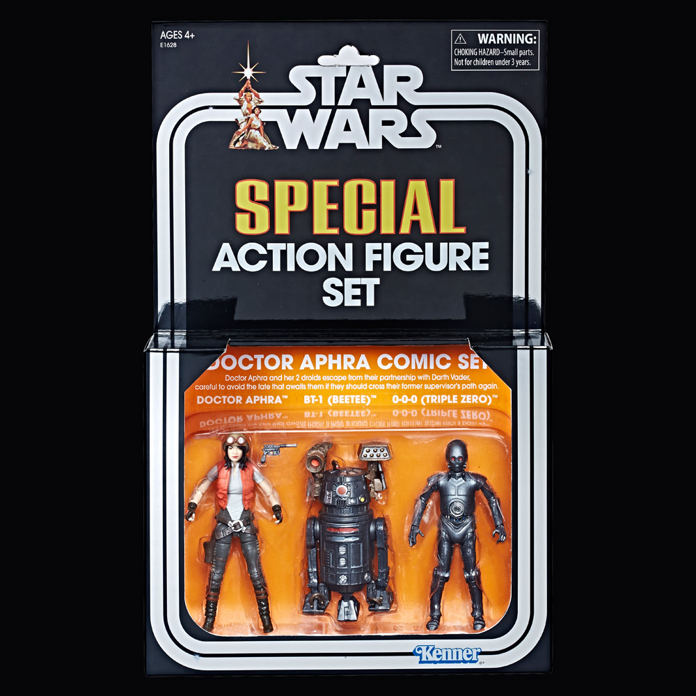 Check Out the Doctor Aphra Comic Set and More of Hasbro's