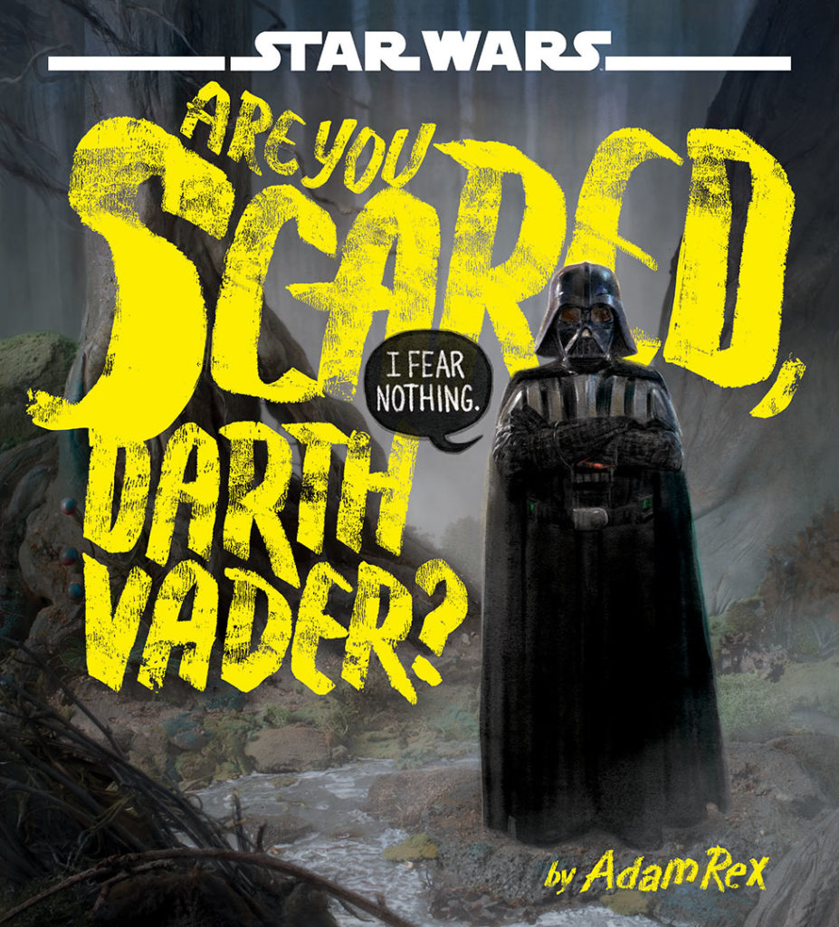 The cover of Are You Scared Darth Vader?