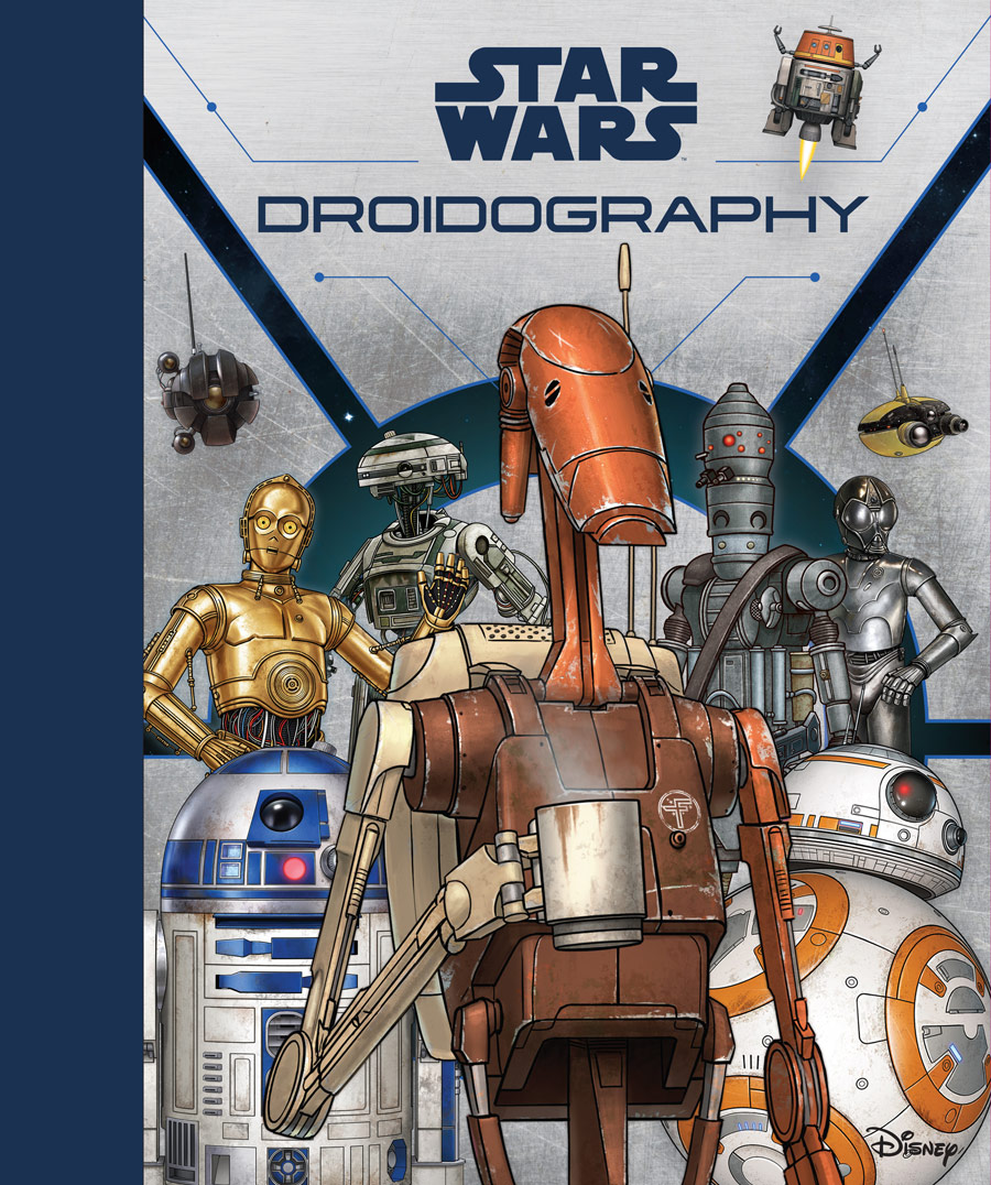Star Wars: Droidography cover.