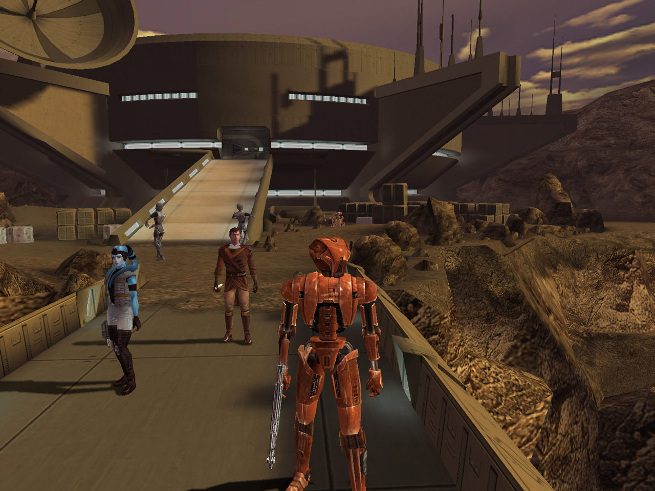 Star Wars: Knights of the Old Republic gameplay screenshot
