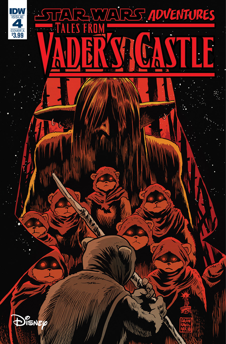 Tales from Vader's Castle #4 cover.