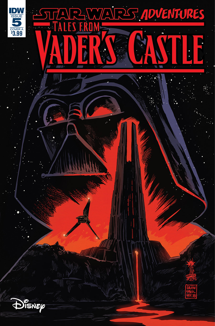Tales from Vader's Castle #5 cover.