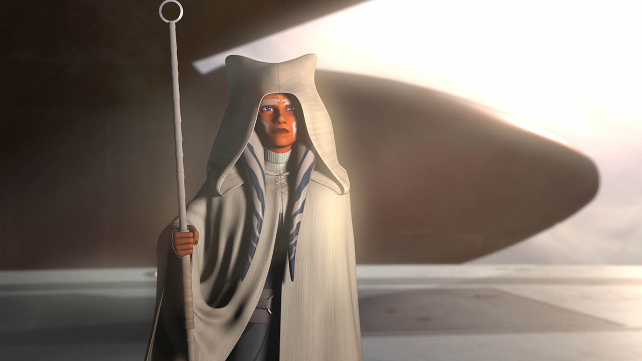 Ahsoka in Rebels
