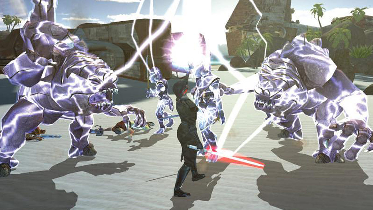 Knights of the Old Republic screenshot.