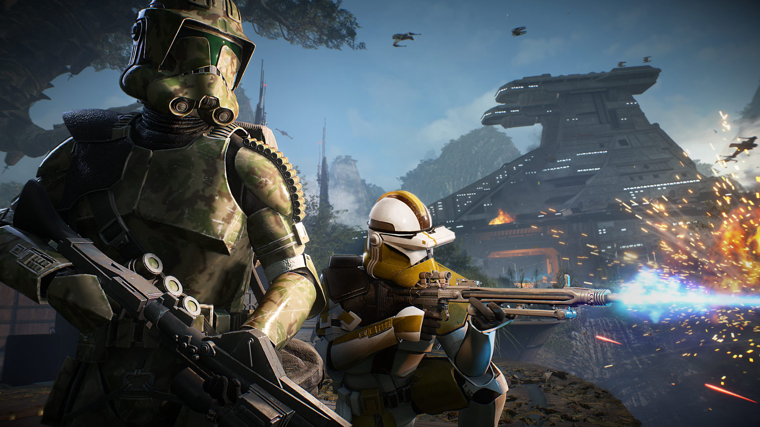 New Clone Troopers Lead The Charge Of Star Wars Battlefront Ii