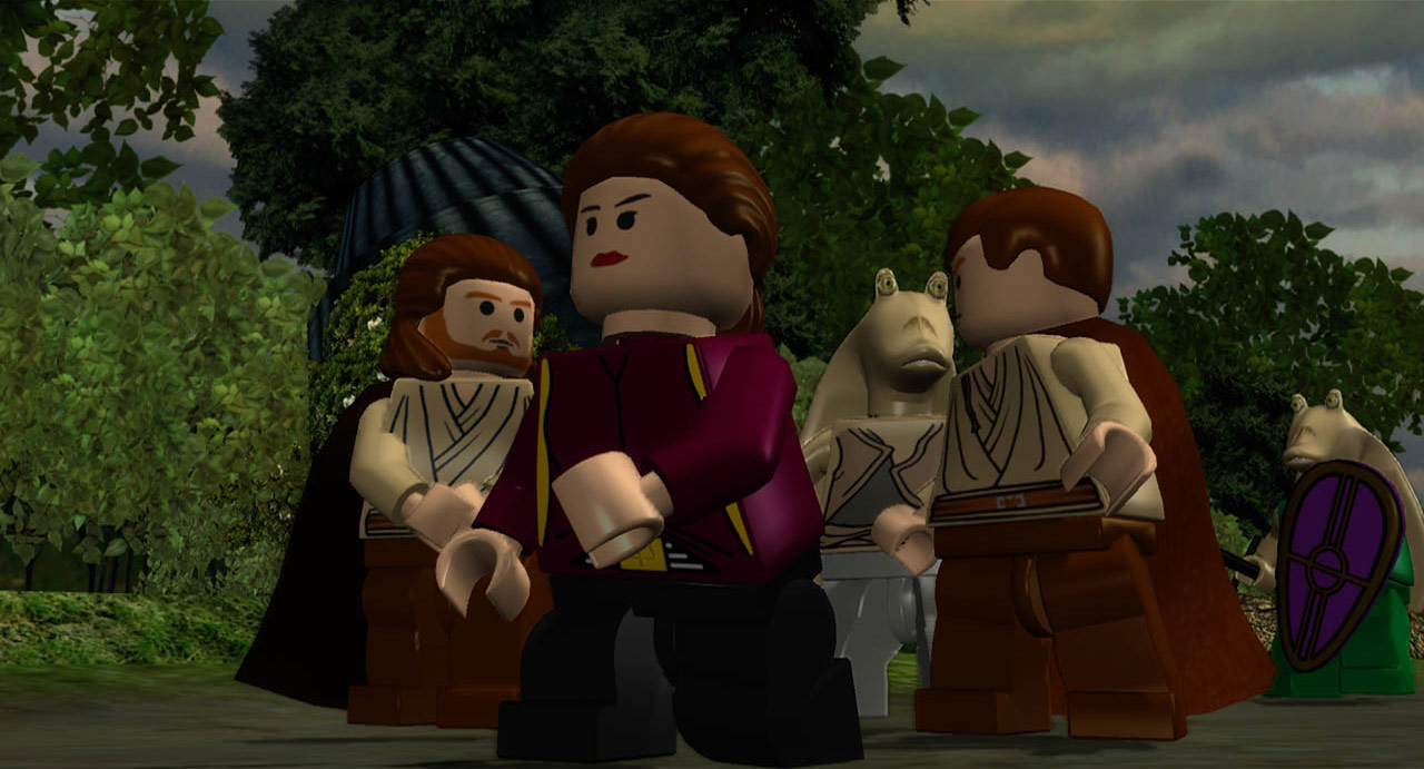 Lego Star Wars The Complete Saga Replaying The Classics