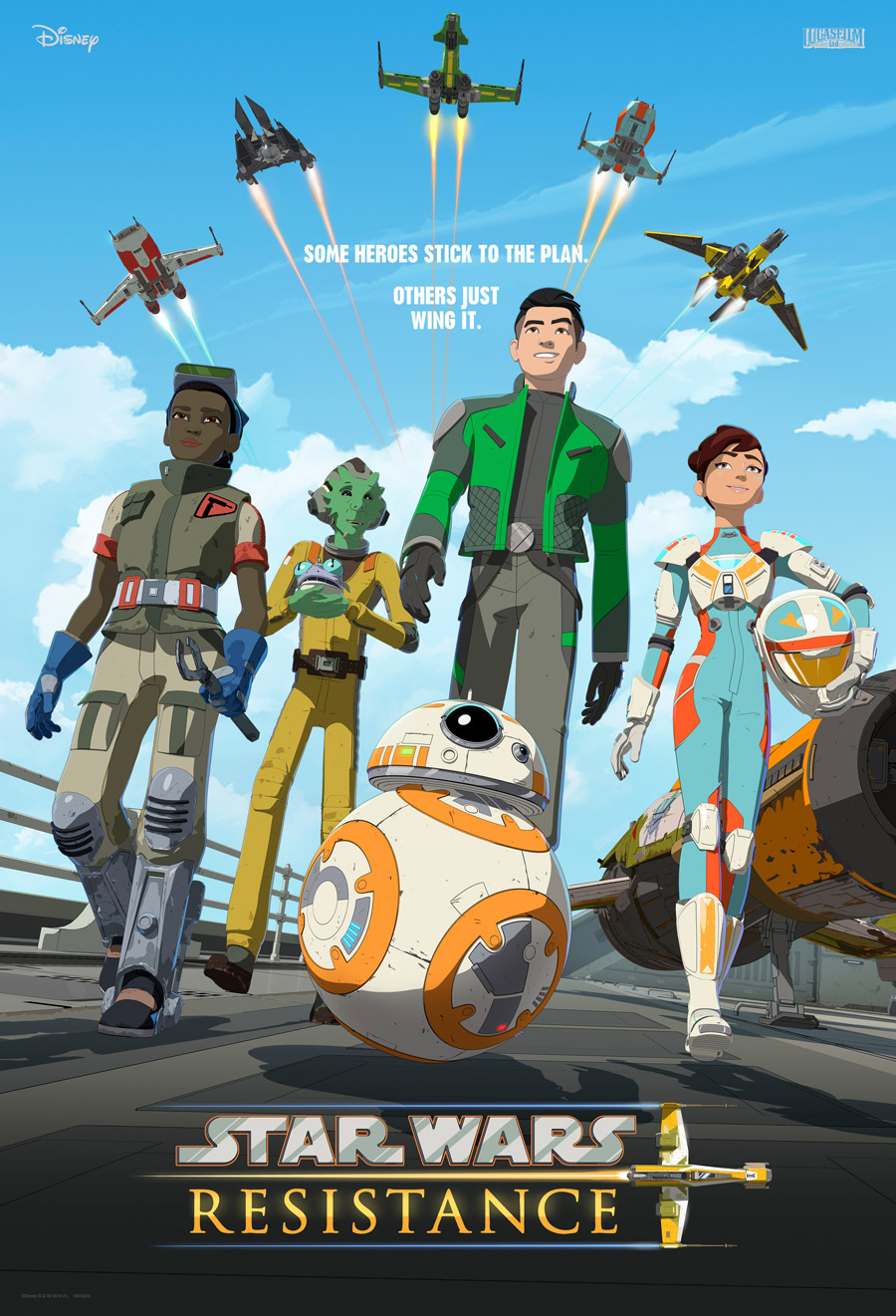 Meet Team Fireball in a New Star Wars Resistance Clip