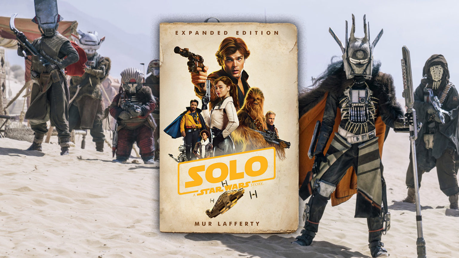 Saw Gerrera, L3-37 in the Solo: A Star Wars Story Novel | StarWars com