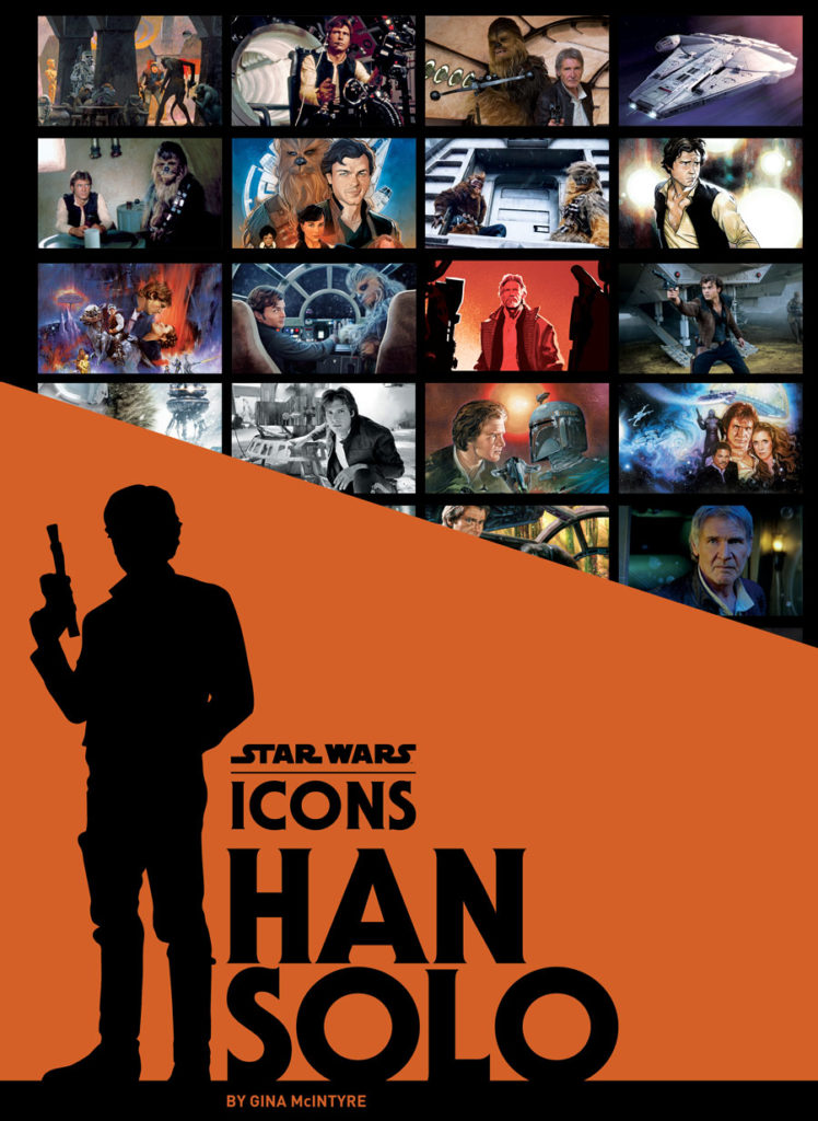 Star Wars Icons: Han Solo book cover.