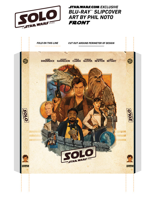 Exclusive Solo Blu-ray Slipcover - FRONT