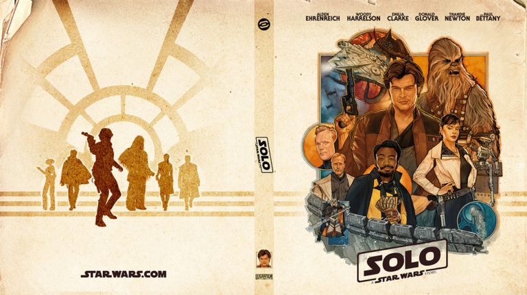 Exclusive Solo Blu-ray Insert Cover