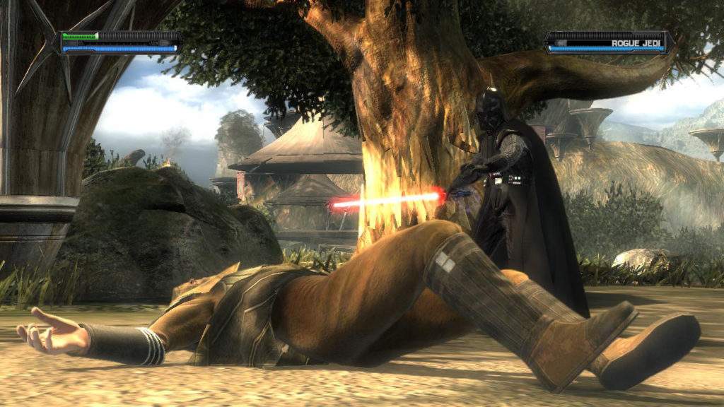 Darth Vader in Star Wars: The Force Unleashed.
