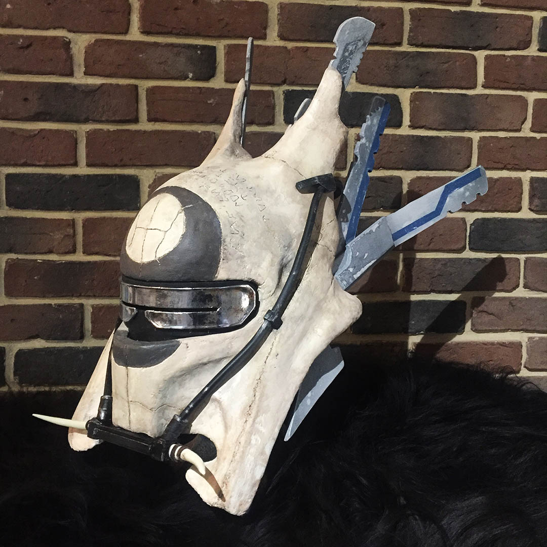 Most Impressive Fans: Geoffrey Masson created this helmet for an Enfys Nest cosplay.