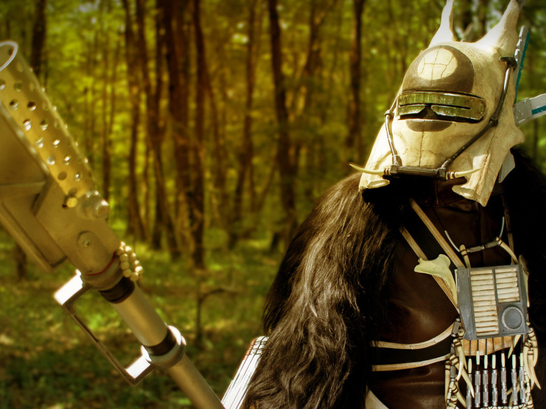 Most Impressive Fans: Maryon Ban models her Enfys Nest cosplay.