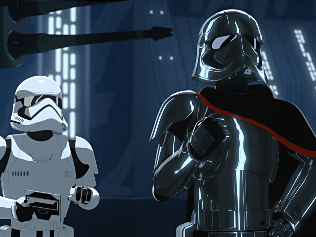 Captain Phasma in Star Wars Resistance