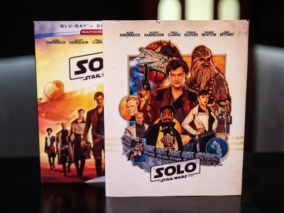 Solo: A Star Wars Story exclusoive Blu-ray cover from StarWars.com