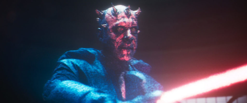 Maul from Solo: A Star Wars Story.
