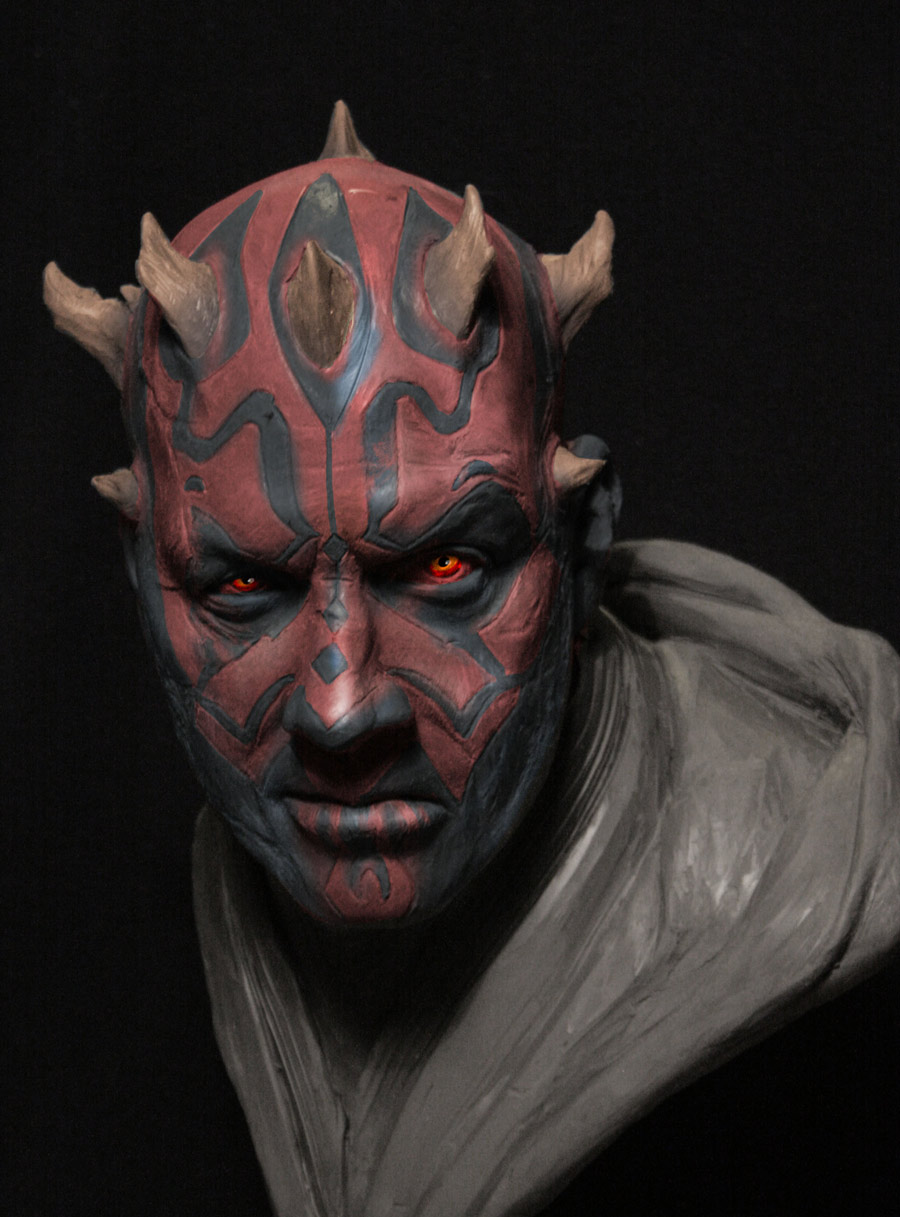 Maul color concepts from Solo: A Star Wars Story.