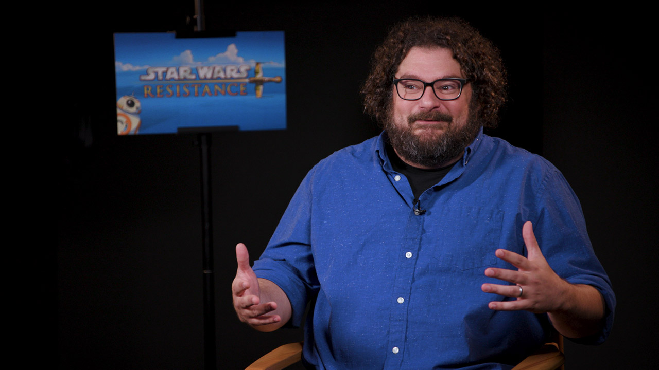 Bobby Moynihan talks about his role in Star Wars Resistance.