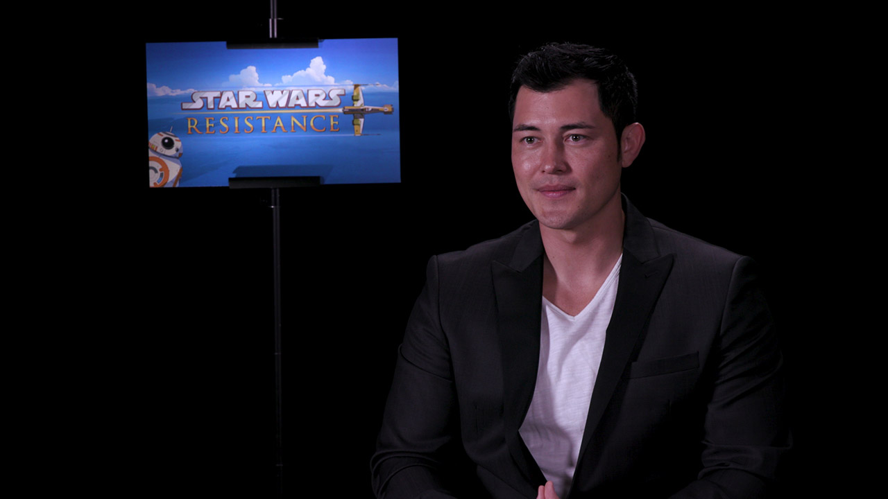 Christopher Sean talks about his role in Star Wars Resistance.