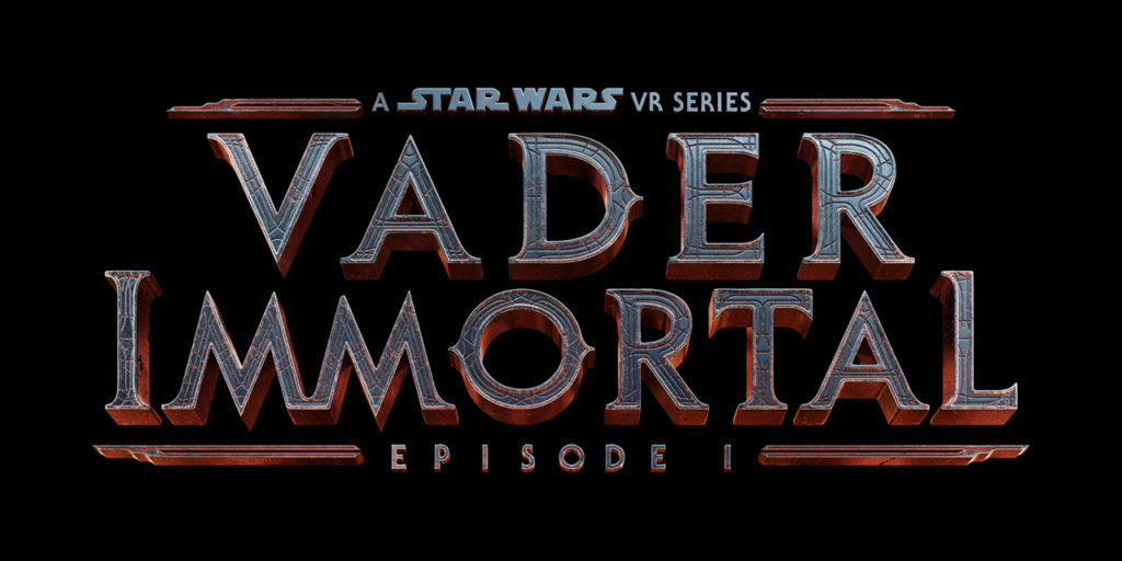 The Vader Immortal: A Star Wars VR Series -- Episode I official logo.