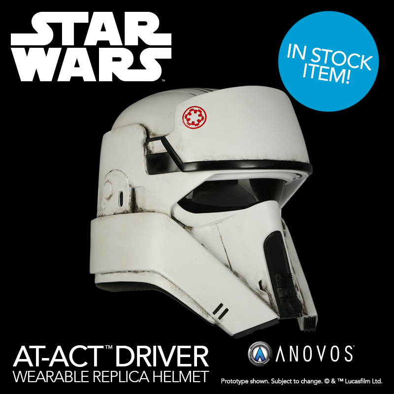 An AT-ACT driver helmet.