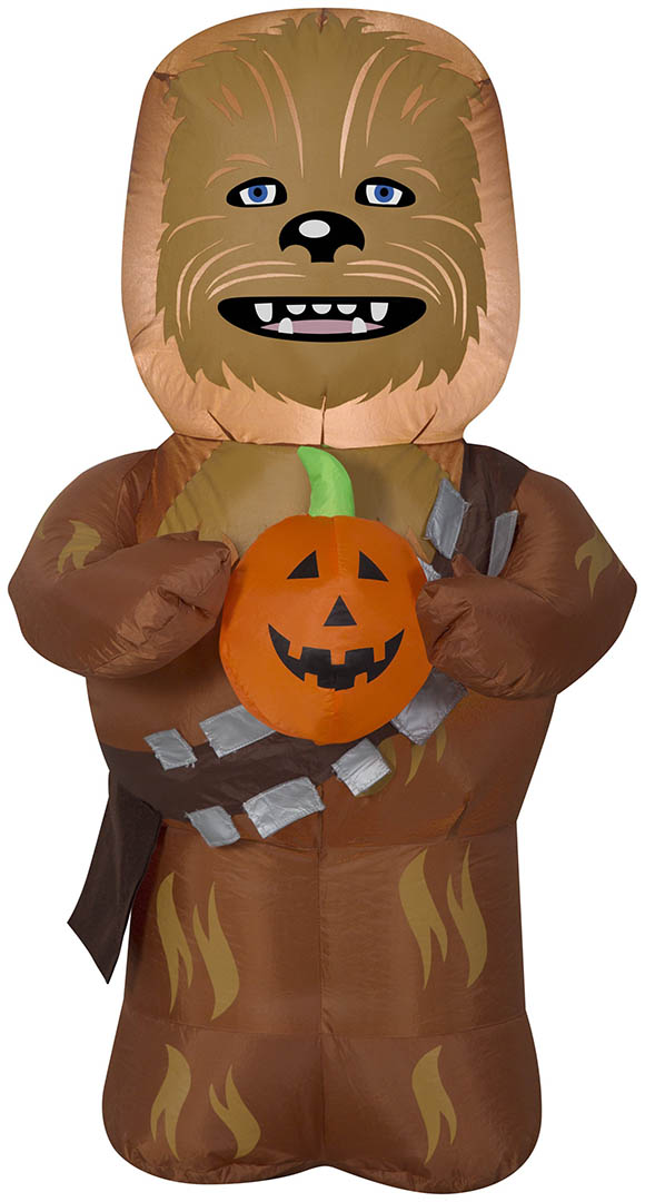 An inflatable Chewbacca.