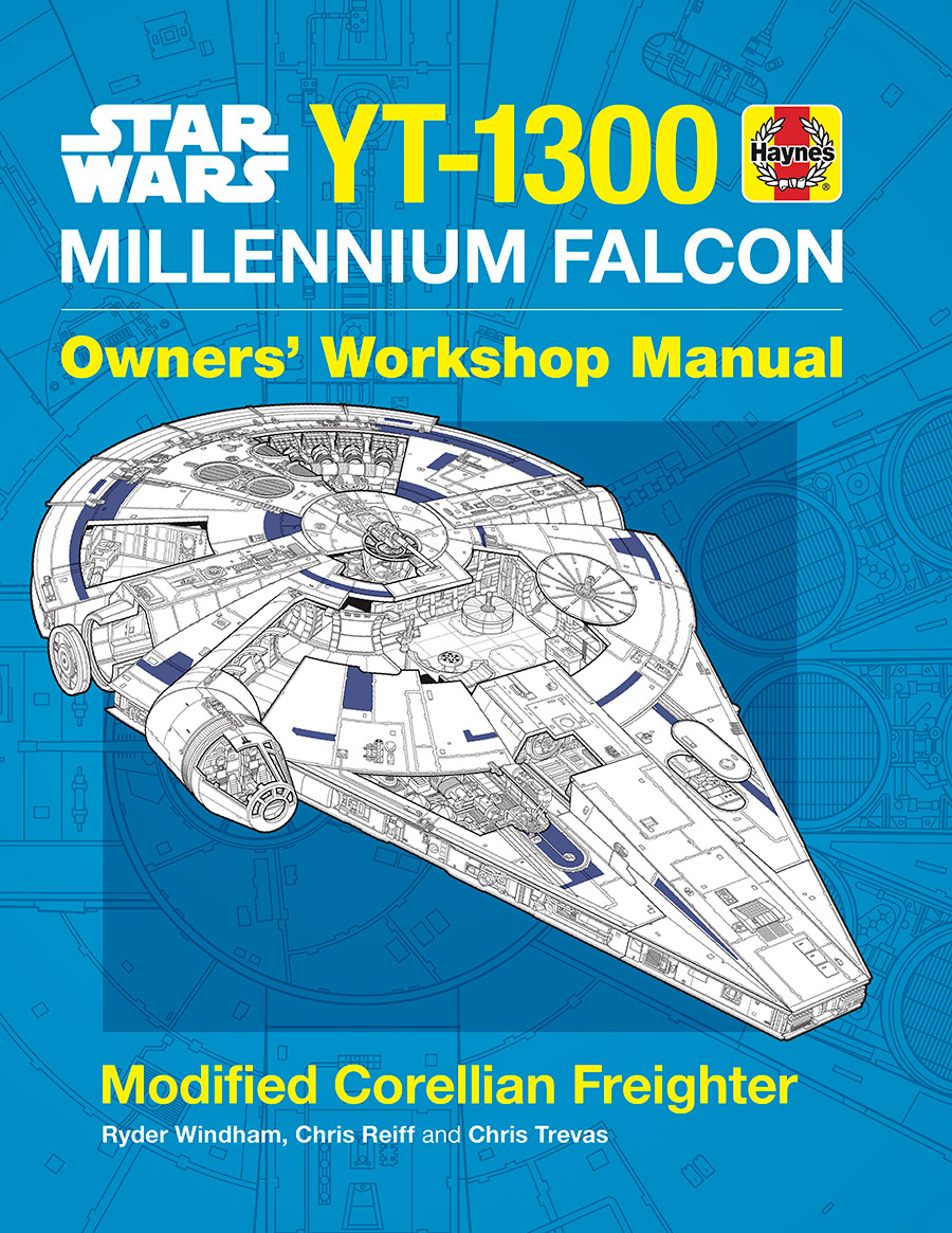 Everything You Need To Know Fly Themillennium Falcon Aviation Engineering Schematics In The Newly Expanded Edition Of Haynes Star Wars Millennium Owners Workshop Manual Illustrators Track Ships Evolution