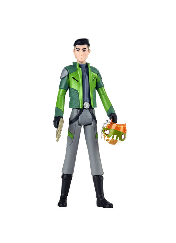 Kaz from the Hasbro Star Wars Resistance line.