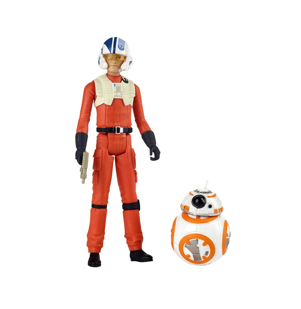 Poe Dameron from the Hasbro Star Wars Resistance line.