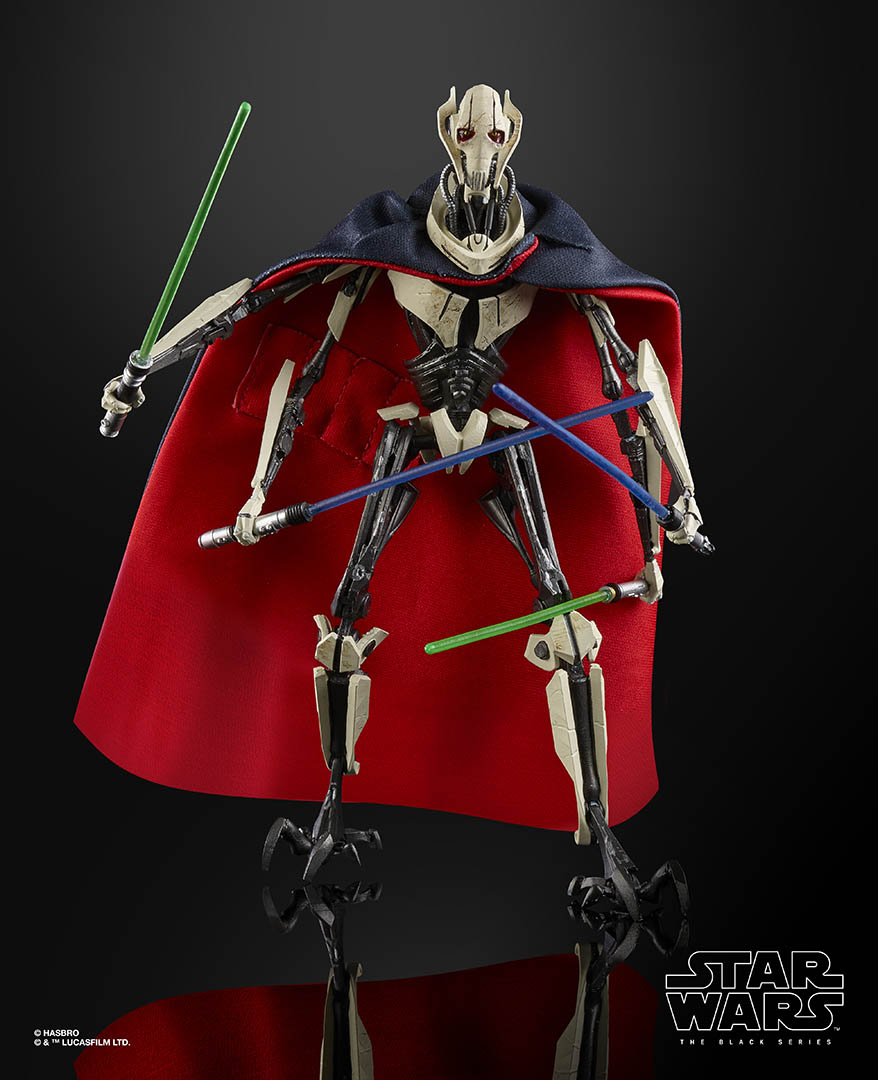 Hasbro's The Black Series General Grievous.