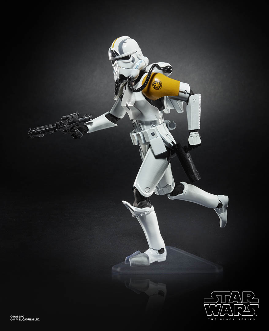 Hasbro's The Black Series Rocket Trooper.