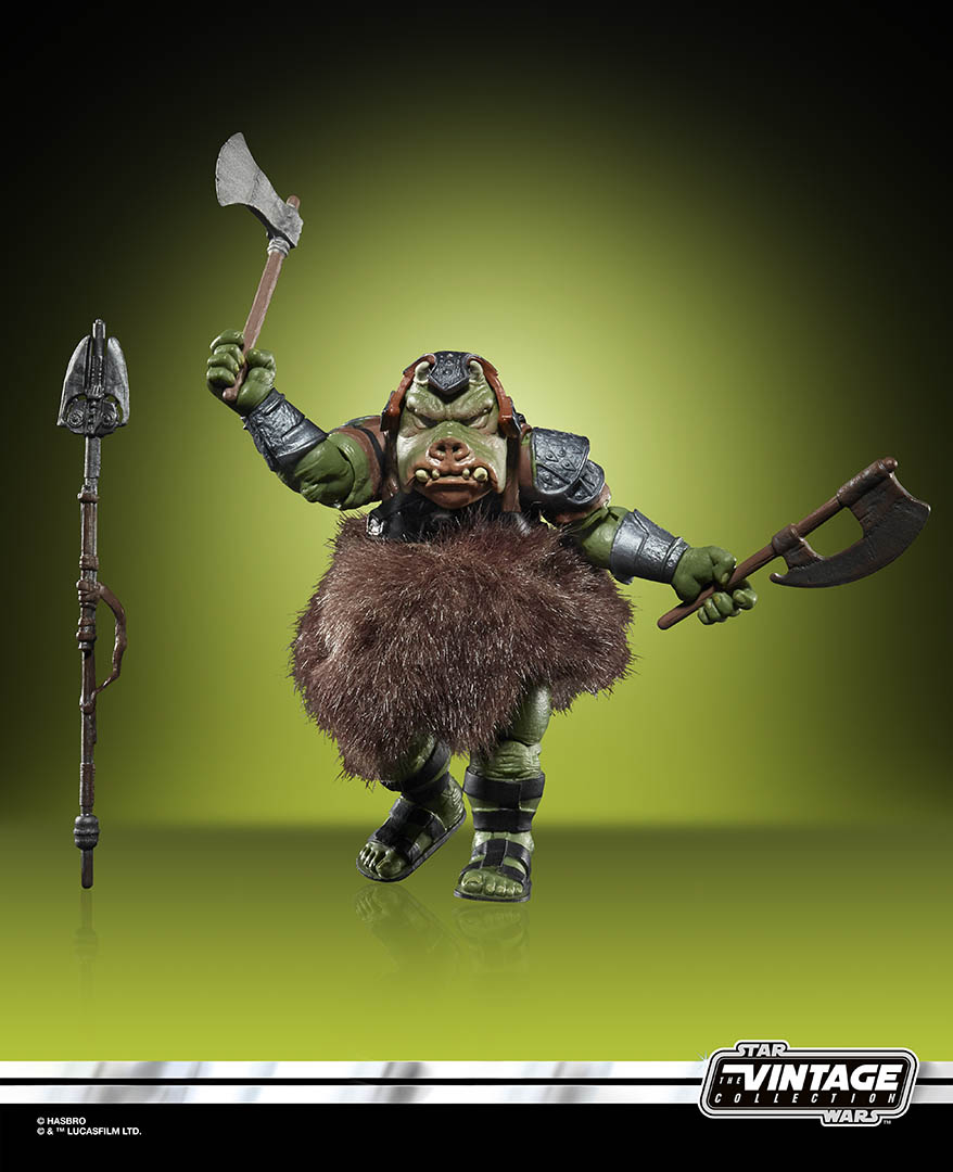 A Gamorrean Guard from the Hasbro Vintage Collection.