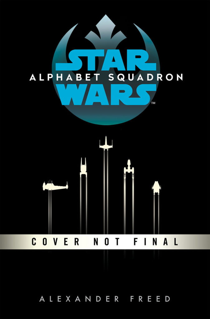 Star Wars: Alphabet Squadron cover.