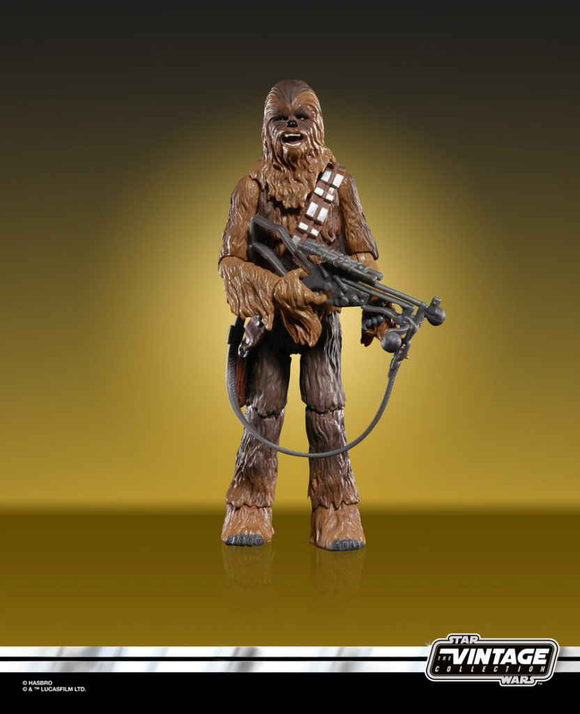 Chewbacca Star Wars: The Vintage Collection figure.