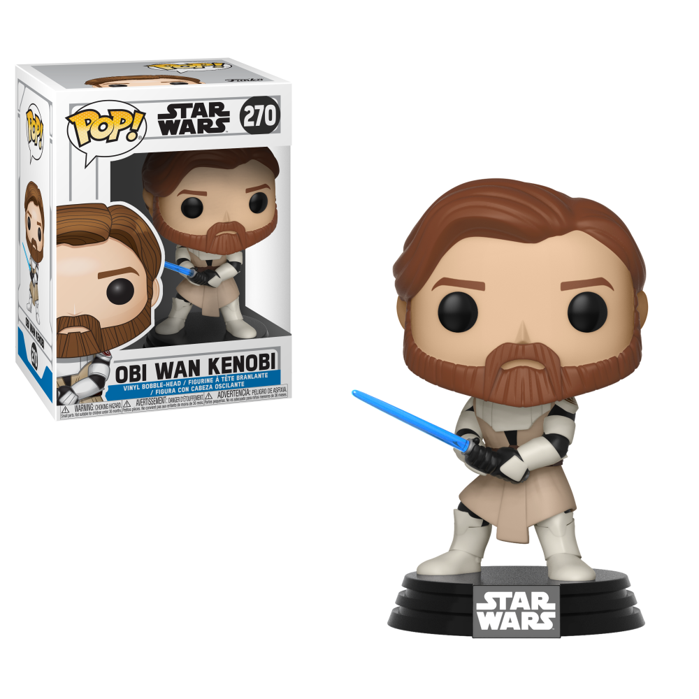 Obi-Wan Kenobi Star Wars: The Clone Wars Funko Pop!