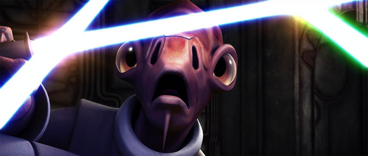 "Jedi Nahdar in ""Lair of Grievous."""