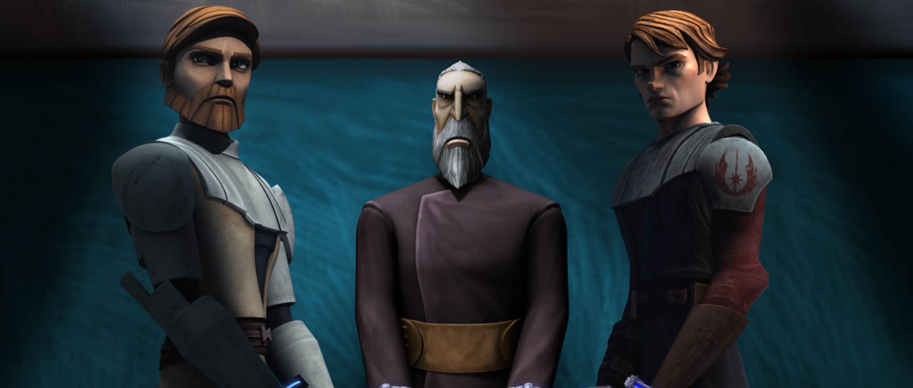 "A scene from ""The Gungan General."""