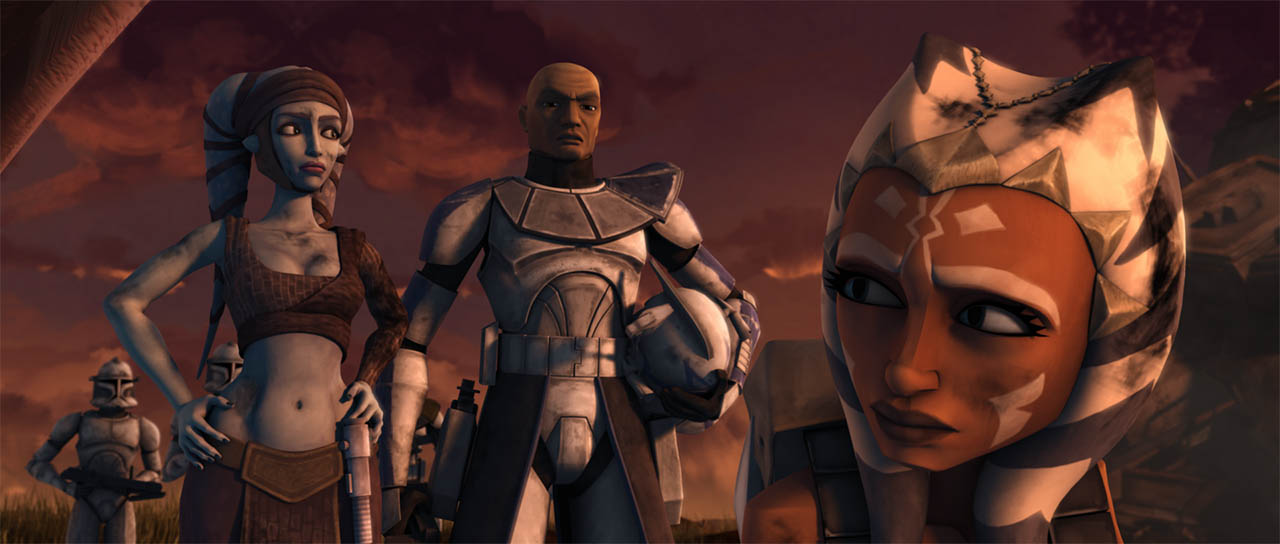 "A scene from ""Jedi Crash."""