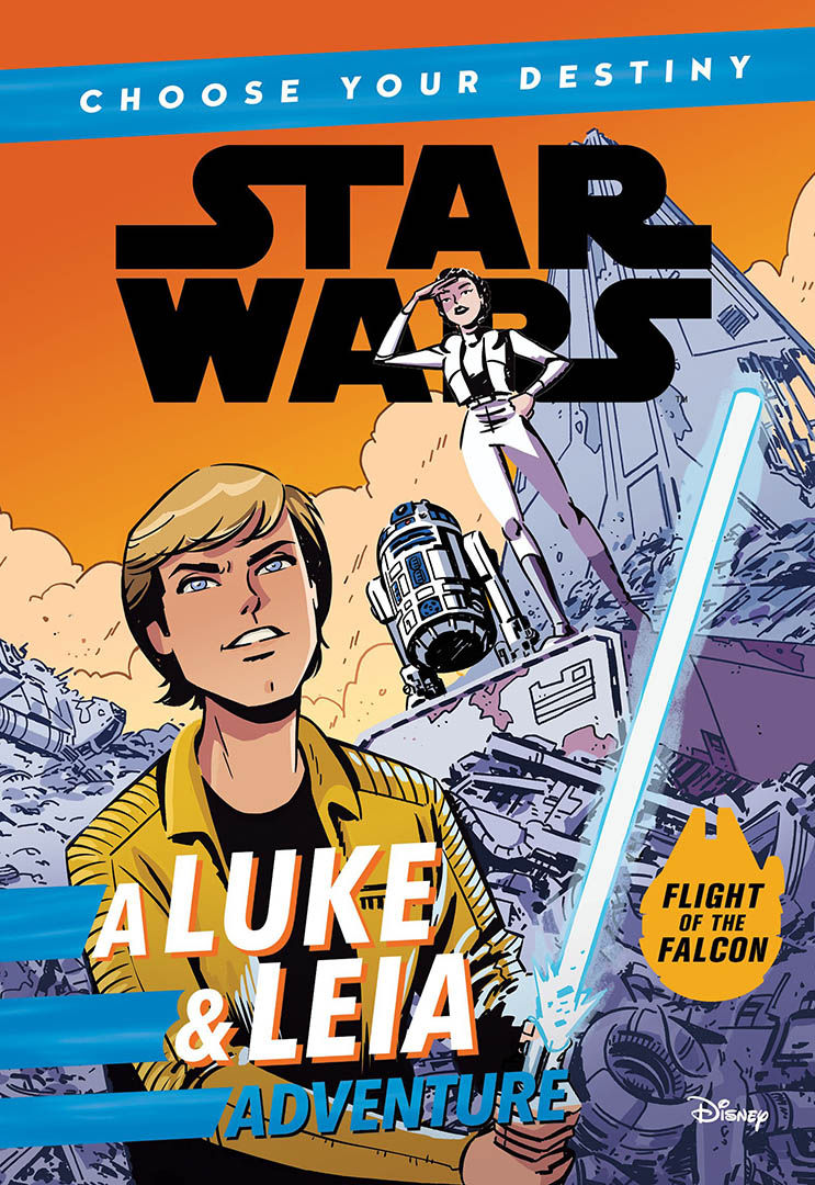 Cover of A Luke and Leia Adventure.
