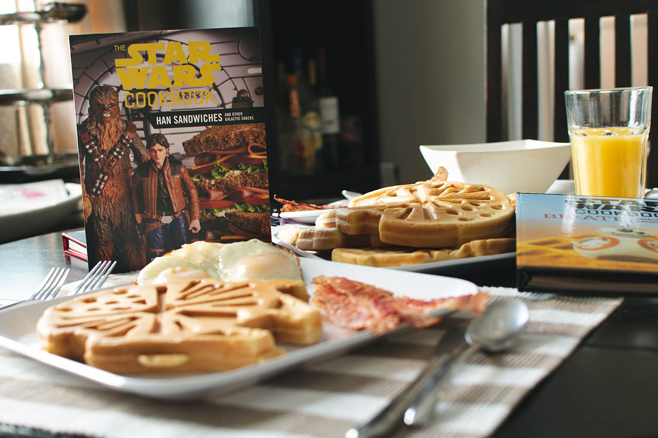 Some Star Wars cookbooks.