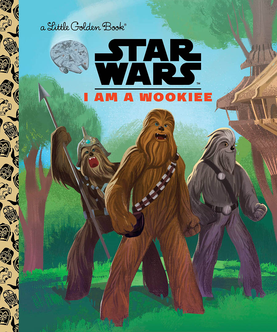 Cover of I am A Wookiee.