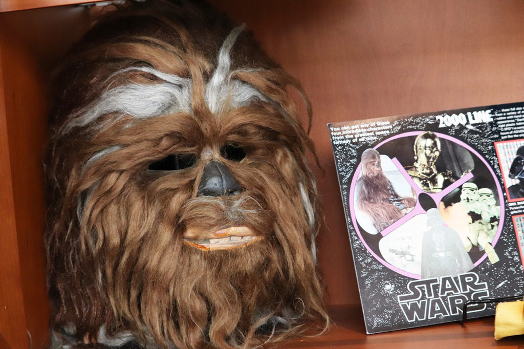 Vintage Chewbacca Halloween mask.
