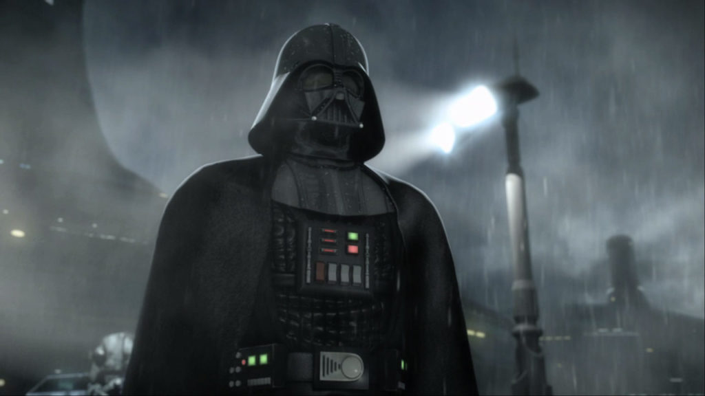Darth Vader in Star Wars: The Force Unleashed II.